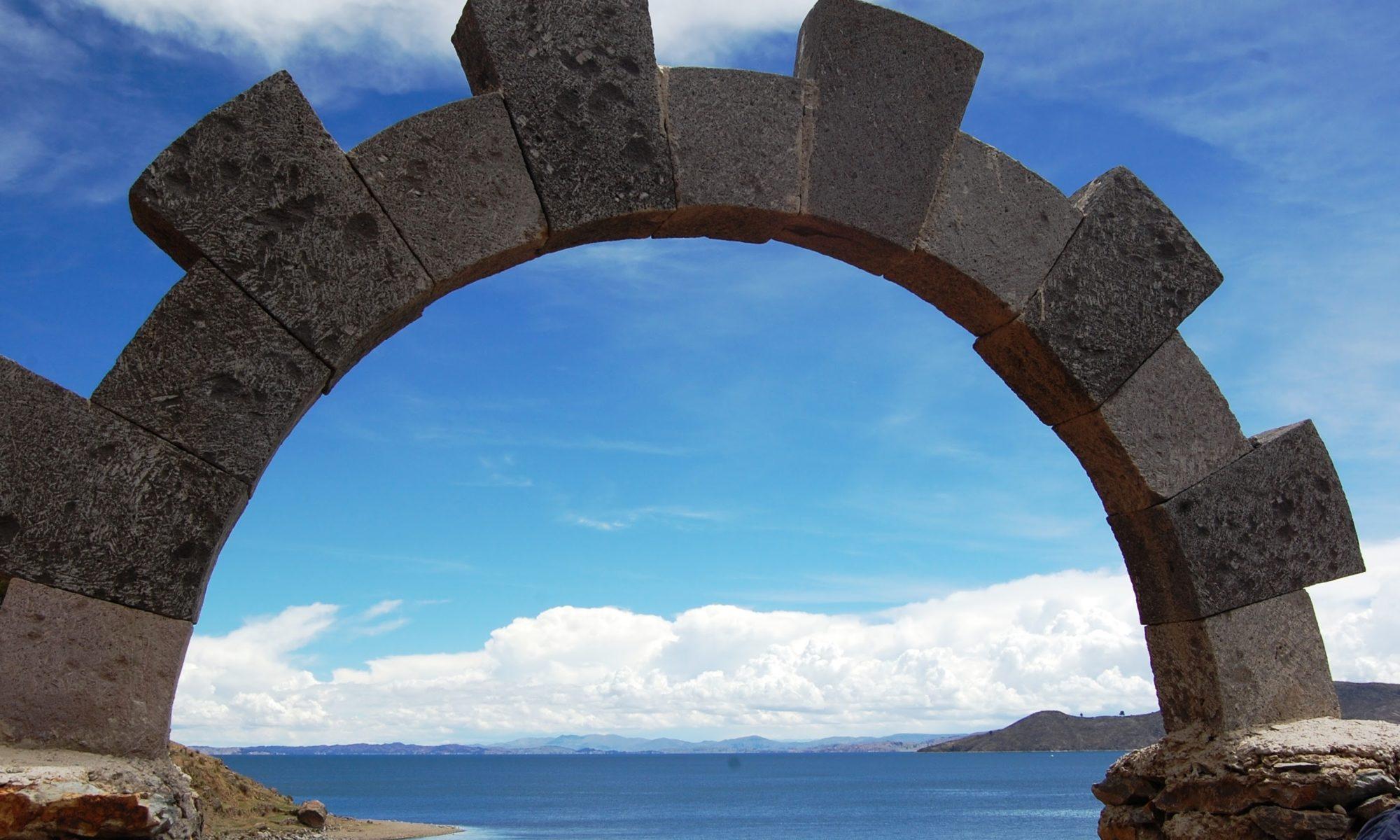 a window on Titicaca lake